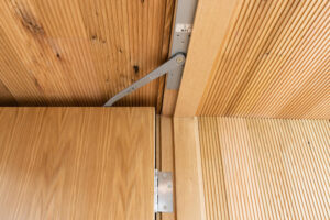 LCN Concealed Overhead Closer in Wood Frame (Fire Rated)