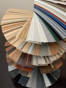 High pressure plastic laminate assortment